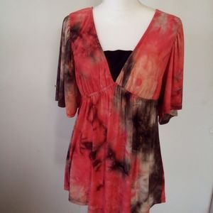 New directions ladies tunic top size M